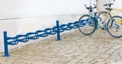 EXTENSION MODULE 6-SPACE CYCLE RACK - SINGLE SIDED CITY
